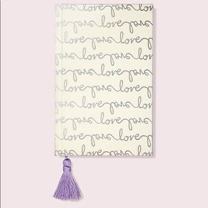 Kate Spade Love Bridal Journal Notebook